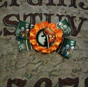 Michael Myers Hair Bow